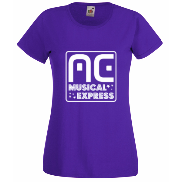 Purple shirt ladies logo